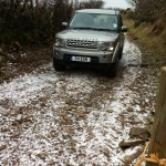 Setting out offroad to The Exmoor Centre