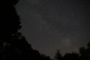 The Milky Way over The Exmoor Centre